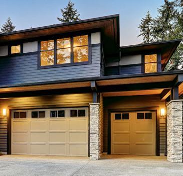 Installation de porte de garage